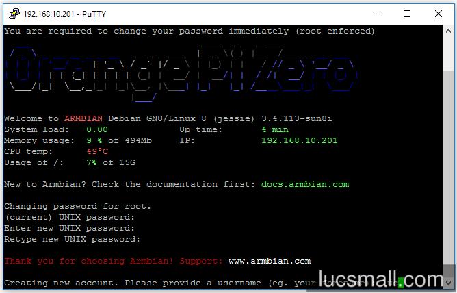 Beginners guide to the Orange Pi Zero - lucsmall com